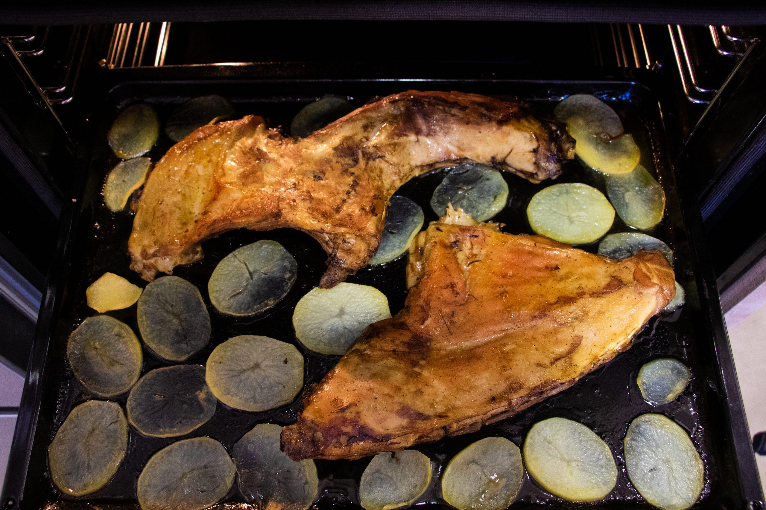 lechazo al horno Pascualin