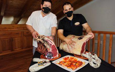 Disfruta de nuestra carne de buey premium en el Asador Las Cumbres de Tábara.